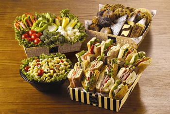 Corner Bakery Cafe catering