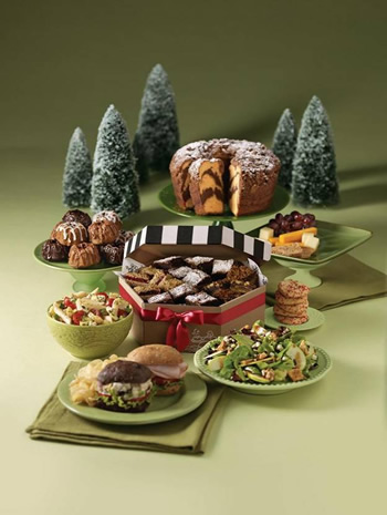 Corner Bakery Cafe holiday catering