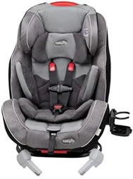 Evenflo Symphony 65 convertible car seat