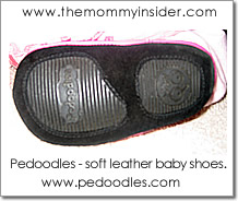 Pedoodles - soft-rubber soles