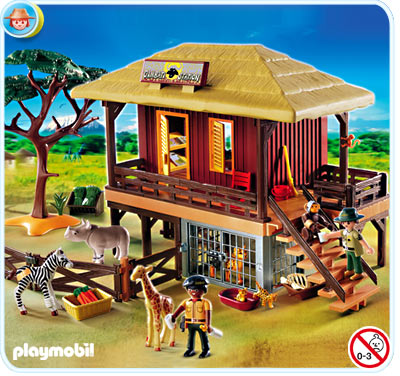 Playmobil Wild Life Care Station