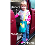 Carter's, OshKosh, and Puma - recipe for a super cute outfit