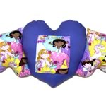 Heart Wings Princess Pillow