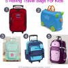 Thumbnail image for 5 Little Kid Rolling Travel Bags