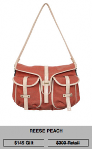 Mia Bossi diaper bag sale on Gilt