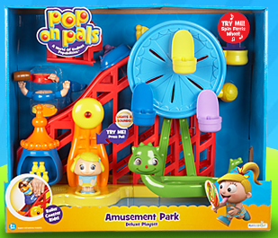 Pop On Pals by Spin Master toys