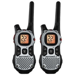 Motorola MJ270R Two-Way Radio review and free designer faceplate offer