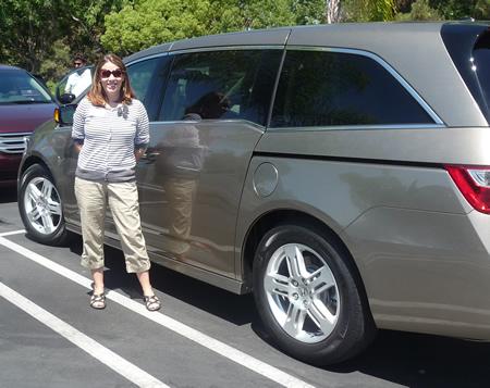 2011 Honda Odyssey review