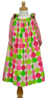 The Gingham Grasshopper - pillowcase dress
