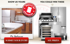 Sears Appliances and KitchenAid Rescue My Appliances Sweepstakes