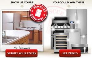 Sears Appliances and KitchenAid Rescue My Appliances Sweepstakes