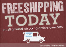 TOMS Shoes - free shipping