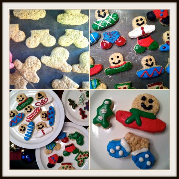 Rice Krispies Treats - Mis-Matched Gingerbread Boys and Girls