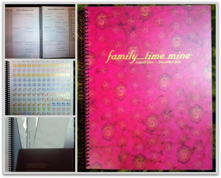 Dotmine day planner review and giveaway