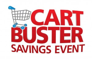 Kroger Cart Buster Savings Event