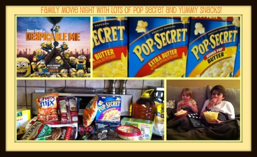 Pop Secret Family Movie Night