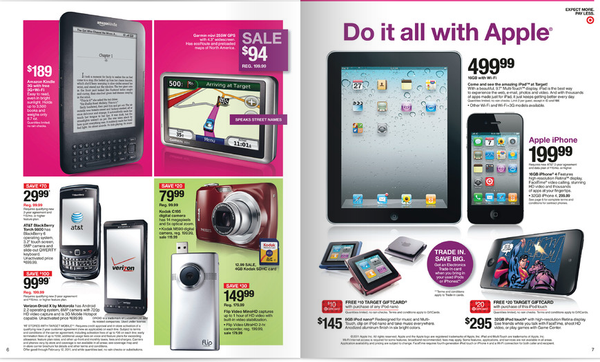 Upgrade your Electronics with Target's Trade-in Program - beginning February 6th
