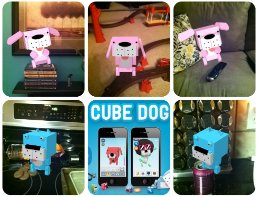 Cube Dog interactive pet app review