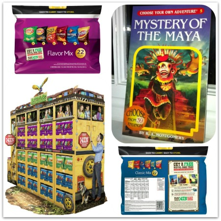Frito Lay and Choose Your Own Adventure books