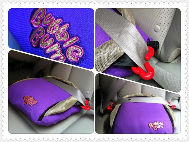 BubbleBum Inflatable Booster Seat to the Rescue!