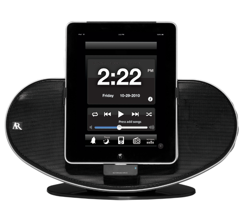 App-Enhanced Docking Station for iPad