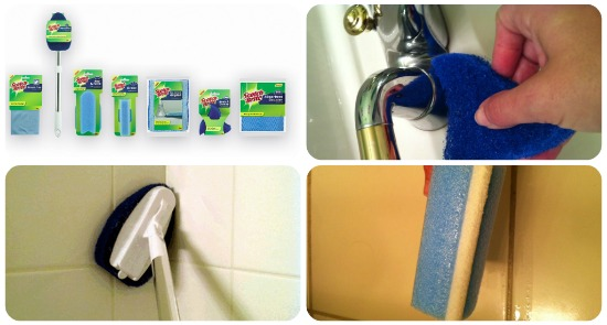 Review ScotchBrite Bathroom Cleaning Products Make Cleaning The - Bathroom cleaning materials