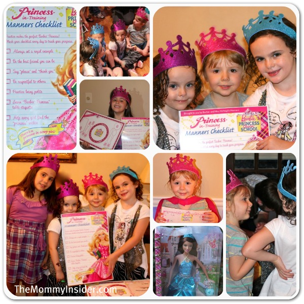 Barbie Charm School Party