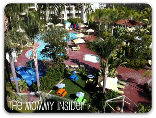 Park Hyatt Aviara - Pool and Kiddie Cafe view