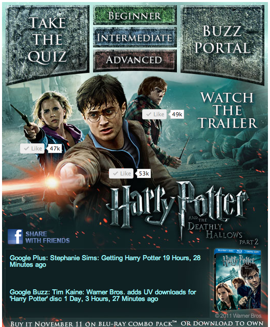 Win a Harry Potter and the Deathly Hallows Part 2 DVD!