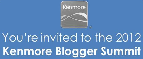 I'm Looking Forward to the 2012 Kenmore Blogger Summit in Chicago, IL