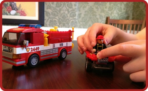 MEGA Bloks Blok Squad Fire Patrol Rescue Review