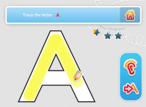 App Review: Kumon Uppercase ABC's - Learn to Trace Letters