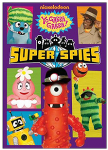 Yo Gabba Gabba! Super Spies DVD Giveaway
