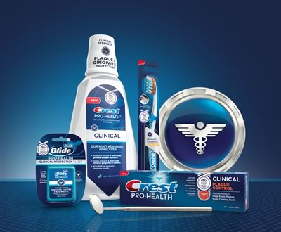 Crest and Oral-B Pro-Health Clinical Plaque Control Regimen