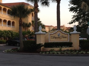There are no tourists at The King and Prince Resort on St. Simons Island, GA