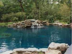 Barrington Pools Natural pool design