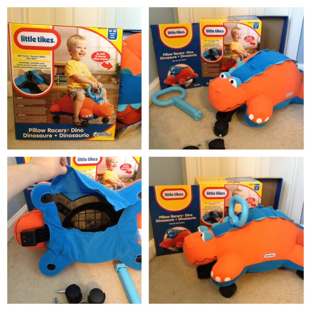Little Tikes Pillow Racers review