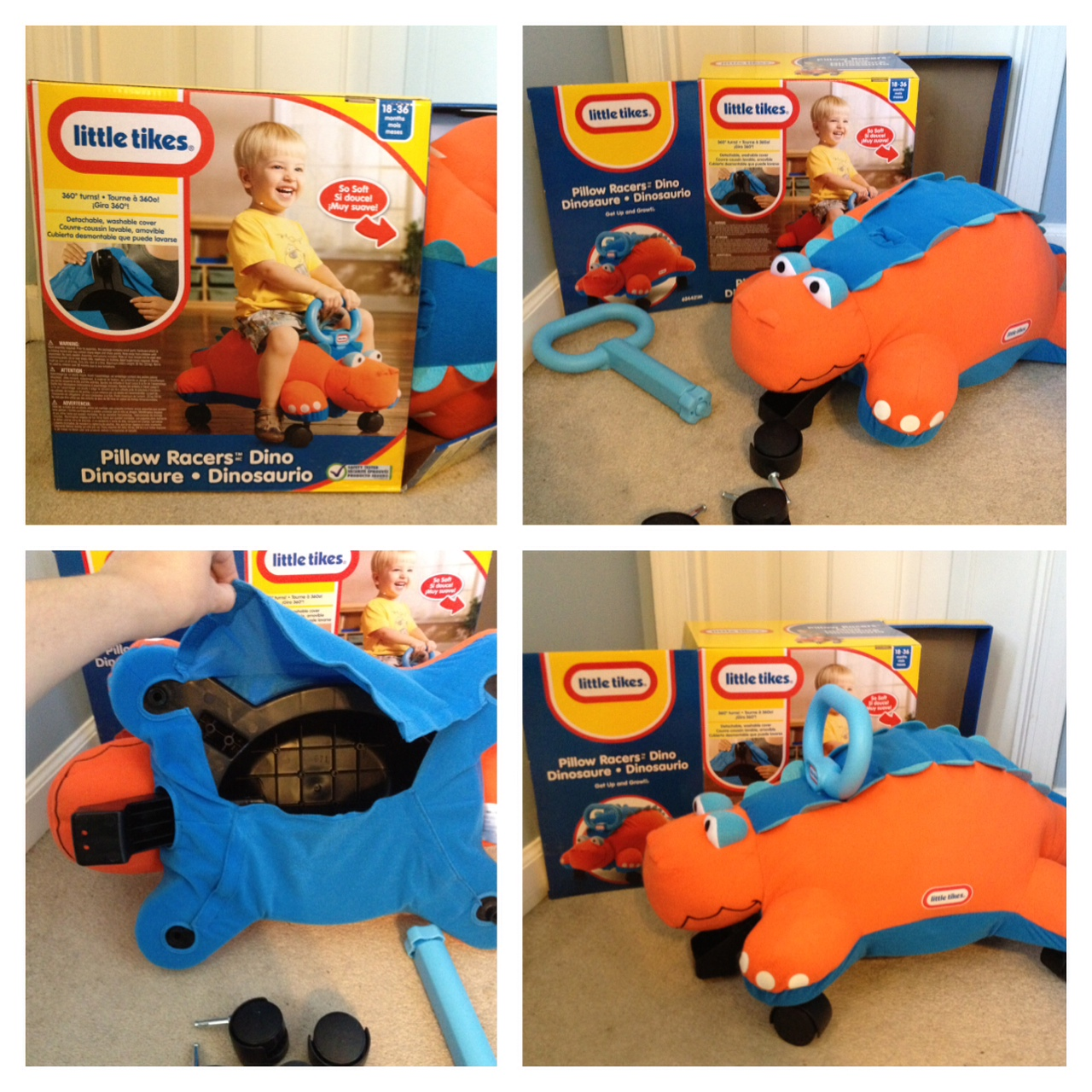 New! Little Tikes® Pillow Racers™