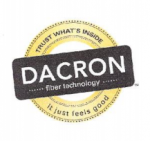 DACRON memory fiber down alternative pillow