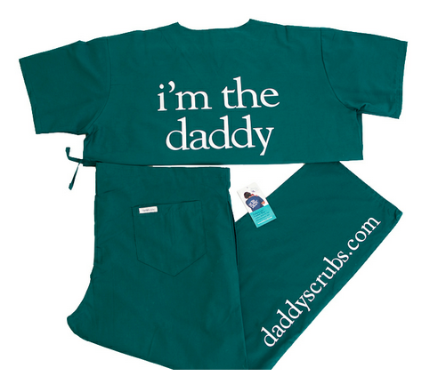 DaddyScrubs: A Gift of Comfort