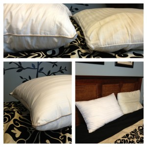 Fieldcrest® Luxury Down Alternative Pillow filled with DACRON®
