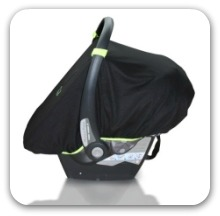 SnoozeShade stroller and car seat shades