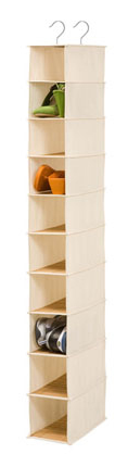 10-Shelf Hanging Bamboo Organizer by Honey Can Do