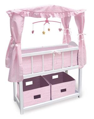 Canopy doll bed at Rue La La