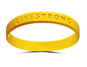 Lance Armstrong LIVESTRONG wristband bracelet