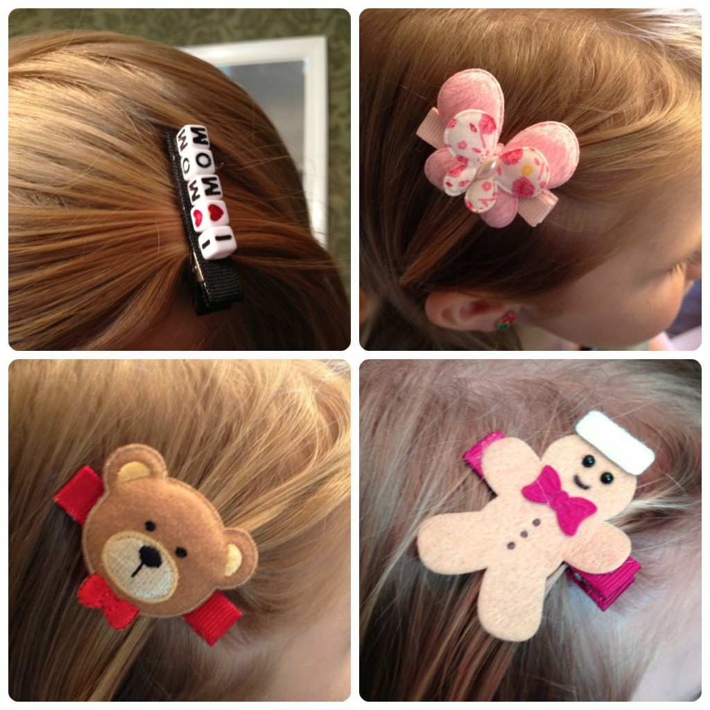 Lil' Sugarplum baby and kids hair clips