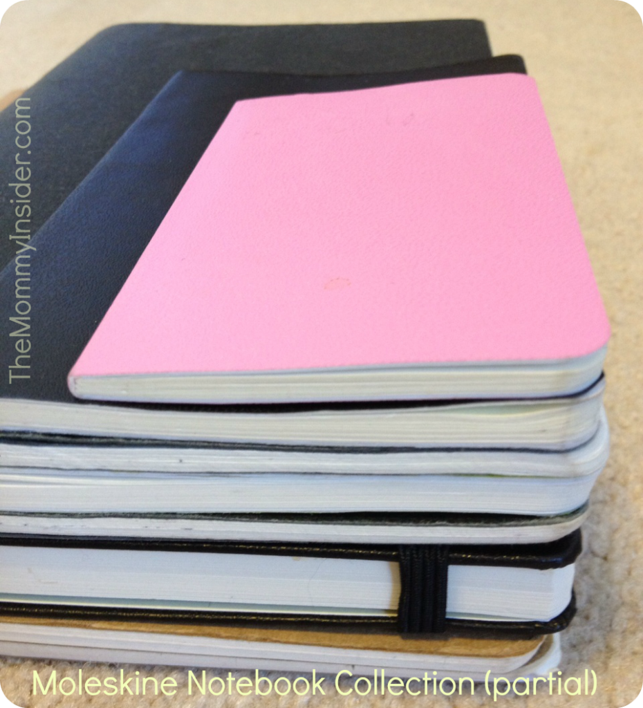 I'm a Moleskine Notebook Addict But Should I Consolidate Or Collect?
