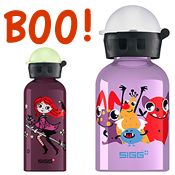 SIGG Halloween Water Bottle and a Trick-Or-Treating Packing List