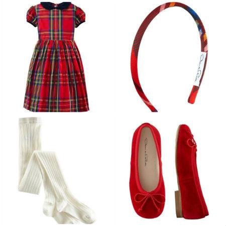 Oscar de la Renta children's clothing