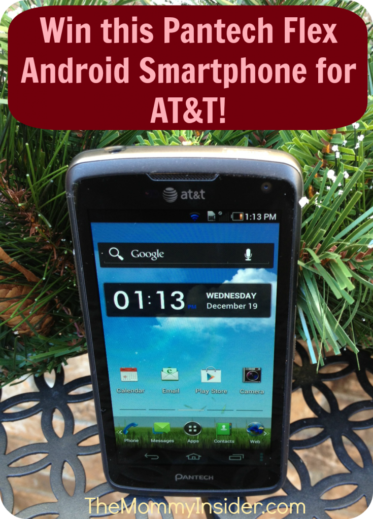 Pantech Flex Smartphone for AT&T - Review And #Giveaway